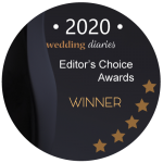 2020 Wedding Diaries Badge